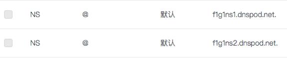 腾讯云解析中abelsu7.cn的NS记录