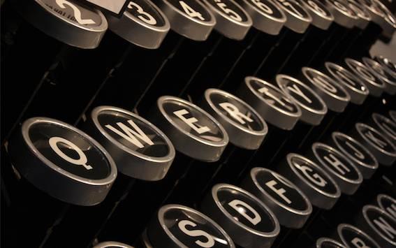 机械英文打字机